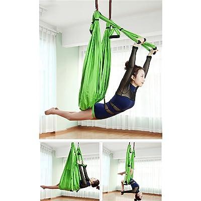 Chaise De Balançoire De Remise En Forme Intérieure Haute Altitude Yoga Hamac Chaise À Bascule Anti-Gravité, Négative Inversion Formation Core Force Minceur Ceinture, Fitness Étirement