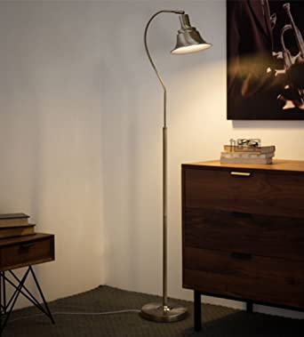 Stehlampe Lesesaal Leselampe Schlafzimmer Wohnzimmer LED Einfache ...