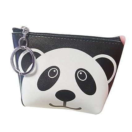 Zipper Cubierta Bag de Tarjeta de Amor Patrón de Panda ...