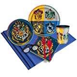 BirthdayExpress Harry Potter Party Supplies Pack with Plates, Cups and Napkins (16)
