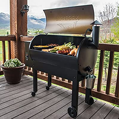Amazon.com: Asador Traeger TFB65LZBC Texas Elite 34  ...