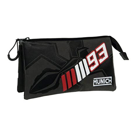 Munich Marc Marquez 93 Neceser de Viaje, 1.32 litros, Color Negro