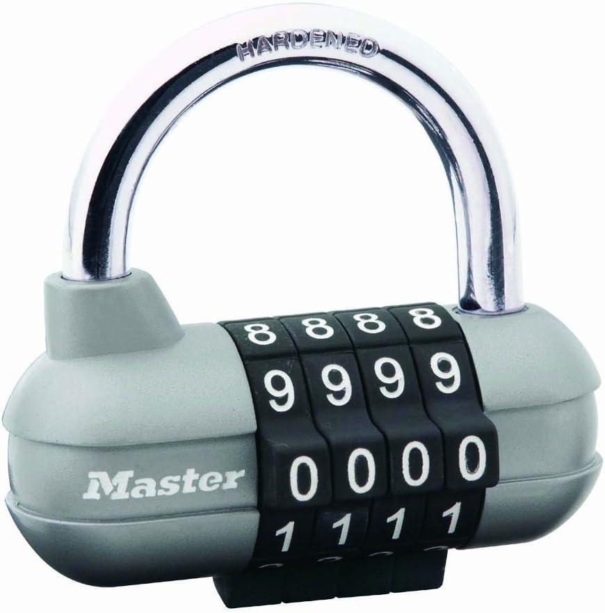Cadenas de combinaison masterlock 604EURD laiton finition 40mm 4 chiffres