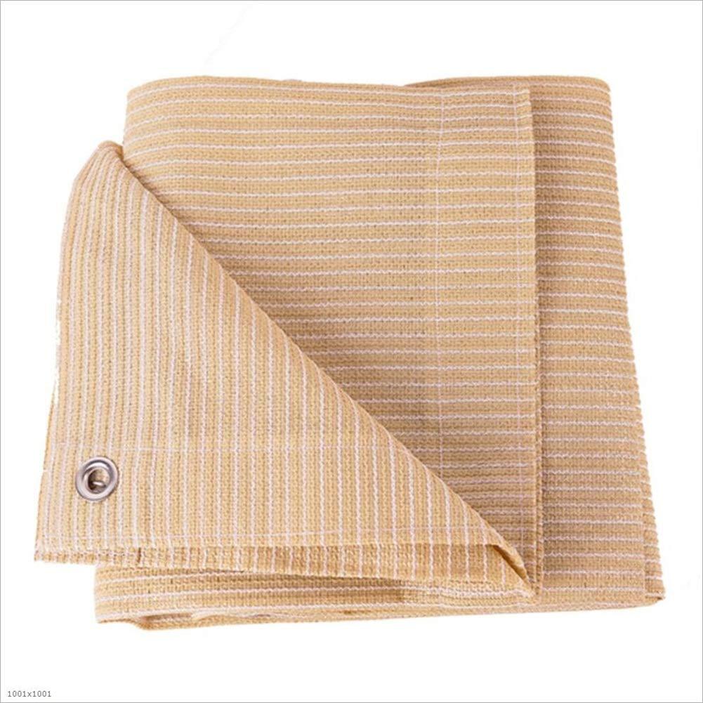 HAIMING Vele Parasole Rete Ombreggiante Shade Net Ombreggiatura Schermo Solare Frangisole UV per Addensante Balcone Balcone di Crittografia (colore   Giallo, Dimensioni   2  3)