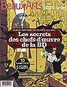 Les secrets des chef-d'oeuvres de la BD : Blake et Mortimer, Tintin, Corto Maltese... par Bernière