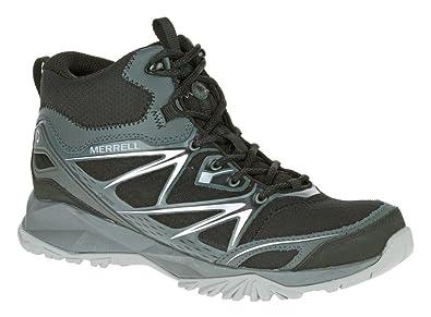 e5e44d1c718 Amazon.com | Merrell Capra Bolt Mid GTX Men's Hiking Boot, Black ...