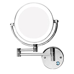 Excrst Wall Mounted Makeup Mirror