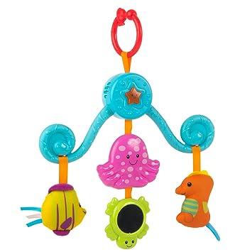 Babybett Kinderwagen Rasseln Greiflinge Spiral Bettwäsche Spielzeug Plüschtiere