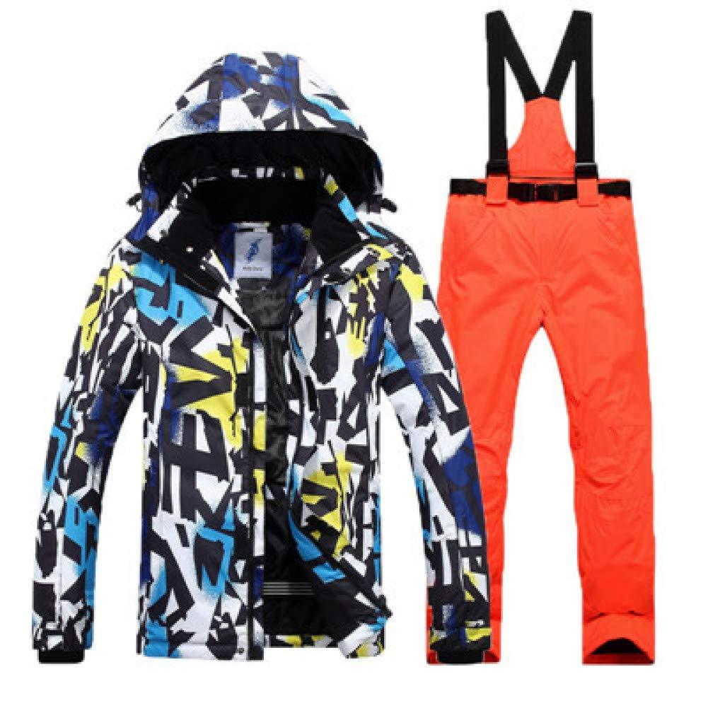 KUNHAN Abbigliamento da sci per uomo uomo uomo   Giacca da Sci Antivento Impermeabile  Pantalone da Sci per   Uomo Outdoor Abbigliamento Traspirante Giacca da Sci  Pantalone Completo da   SciB07MTB2RTH3XL Coloreeee 7 | Nuovo  | Modalità moderna  | A Prezzo Ridott 5c0880