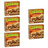 Nature Valley Granola Bars, Sweet and Salty Nut, Peanut, 6 Bars - 1.2 oz (Pack of 5)