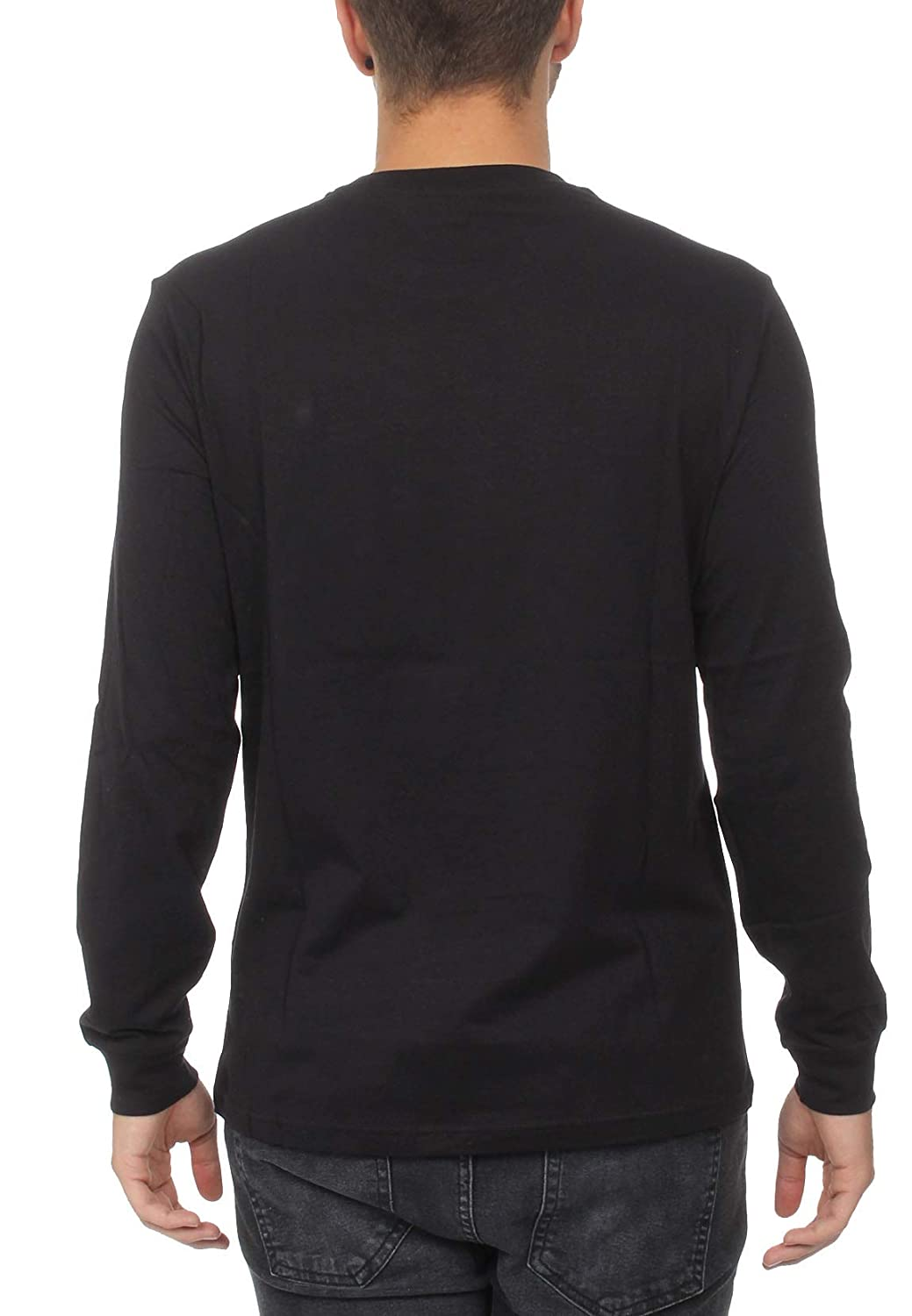 Uomo Champion Crewneck Long Sleeve T-Shirt