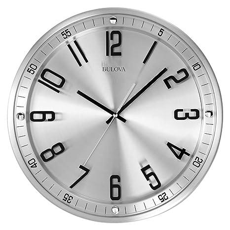 Amazon.com: Bulova C4646 Silueta Reloj, acabado de acero ...