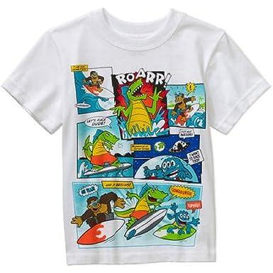 Garanimals Baby Toddler Boy Short Sleeve Tee Shirt