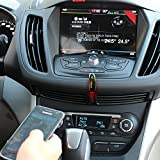 Enegg Wireless Bluetooth Car Stereo Audio Adapter/Receiver (3.5mm Aux Input Jack) for Hands Free Music Streaming or Calling; iPhone 7 6S Plus; Samsung Galaxy S7 S6 Note 5; iPad iPod & Android Tablet