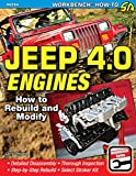 img - for Jeep 4.0 Engines: How to Rebuild and Modify (Workbench How-to) book / textbook / text book