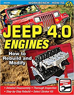 Jeep 4.0 Engines: Rebuild and Modify (Workbench How-to ...
