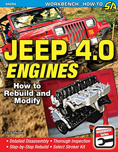 Read Online Jeep 4.0 Engines: How to Rebuild and Modify (Workbench How-to) ebook