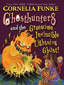 Ghosthunters and the Gruesome Invincible Lightning Ghost 0439833094 Book Cover
