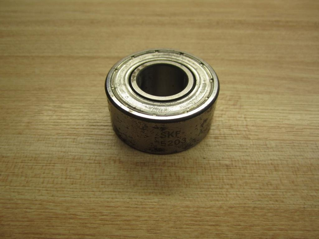 5203-2RS C3  10 PCS FACTORY NEW DOUBLE ROW SEALED BEARINGS SHIPS FROM THE U.S.A.