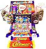 Chocolate Gift Box! Retro Sweets Hamper Filled With Old Fashioned Sweet Shop Chocolates