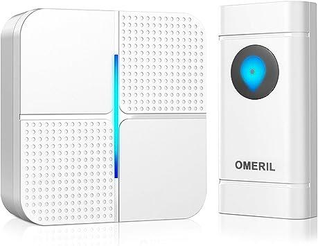 Home Door 52-Tunes Chimes Ding-dong Wireless WiFi Doorbell Receiver 2019 UK Plug