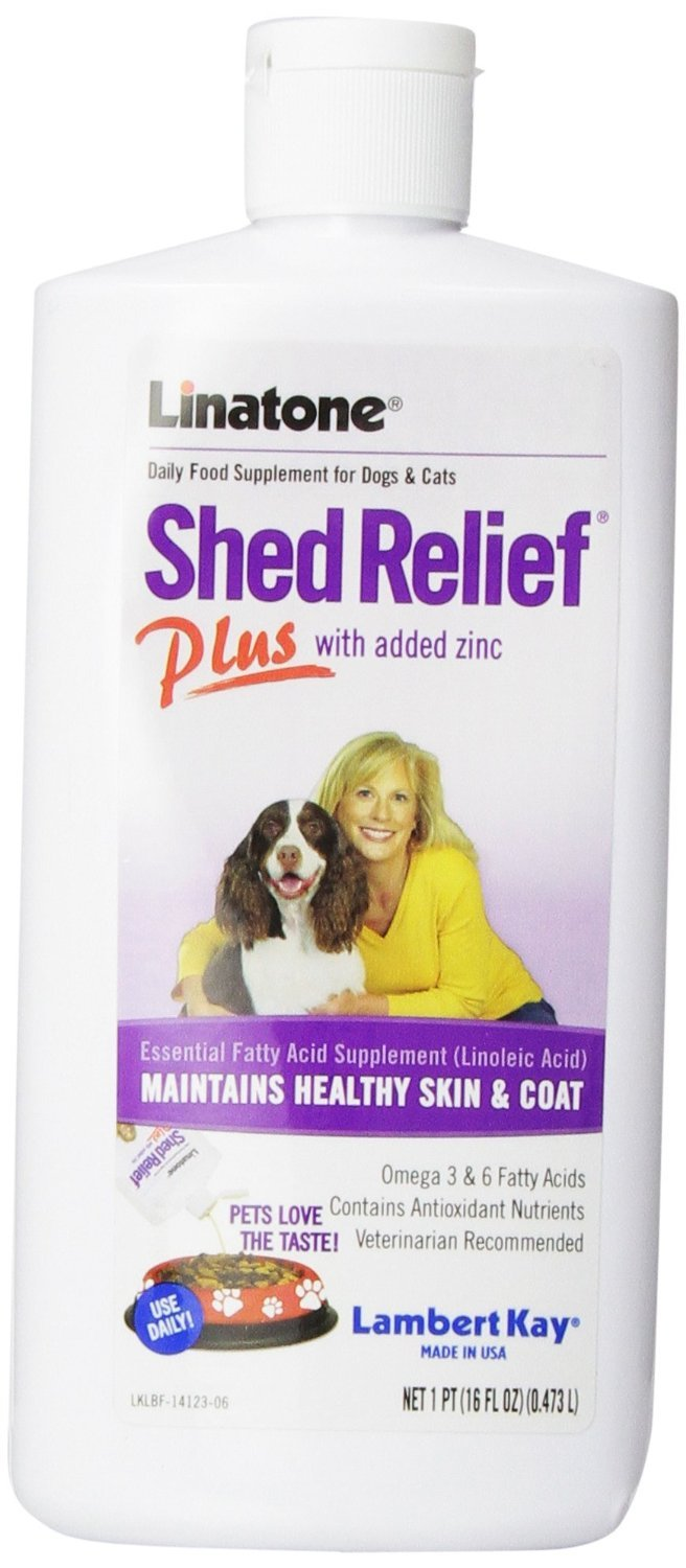 16 Ounces, Linatone Shed Relief with Essential Fatty Acids & Vitamins A, D, E, Zinc, Protein by Lambert Kay