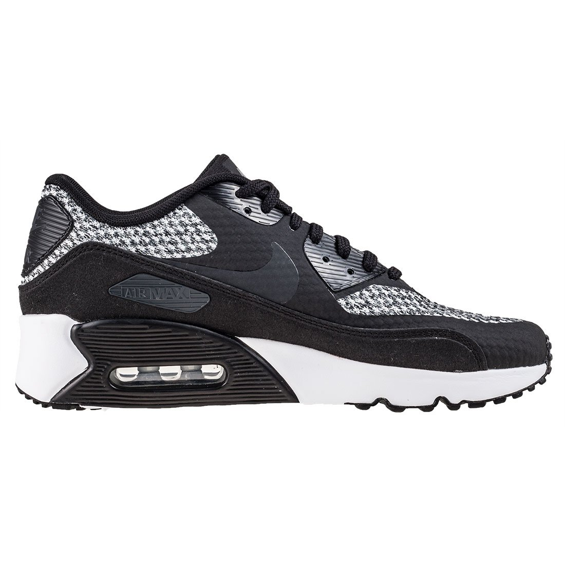 Nike Air Max 90 Ultra 2.0 Se GS Junior Running Trainers 917988 Sneakers Shoes (UK 6 US 6.5Y EU 39, Black Anthracite Cool Grey 005)