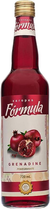 Xarope Fórmula Grenadine 720ml por Fórmula