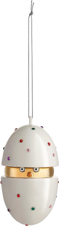 Alessi Piacere, Pulcino il Grande Home Ornament, 5.60 x 5.60 x 9.50 cm, Multi-Colour