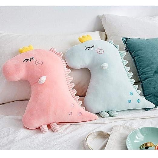 Almohada de Dinosaurio de algodón durmiendo Lujoso cojín ...