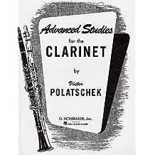 Victor Polatschek: Advanced Studies For the Clarinet. Partitions pour Clarinette