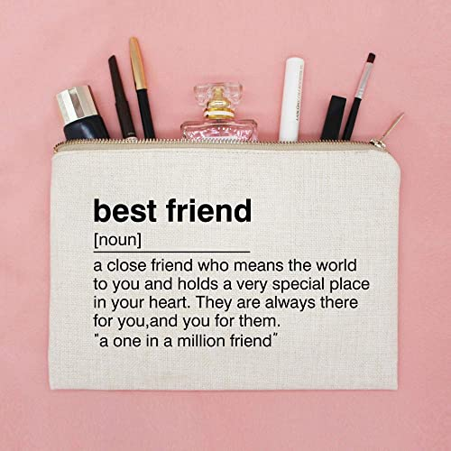 Amazon Best Friend Birthday Gift Toiletry Bag Definition Quote Cosmetic Makeup Case