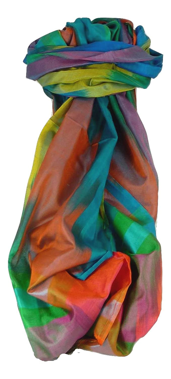 Varanasi Ekal Premium Silk Long Scarf Heritage Range Arun 10 by Pashmina & Silk