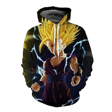 HOOSHIRTA 2019 New Men Dragon Ball Hoodie 3D Hooded Sweatshirts Kids Goku Super egeta Boy Cartoon