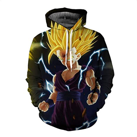 Amazon.com: HOOSHIRTA 2019 New Men Dragon Ball Hoodie 3D Hooded Sweatshirts Kids Goku Super egeta Boy Cartoon Pullover Outwear Sudadera Hombre,1,4XL: Sports ...