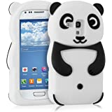 kwmobile ÉTUI EN SILICONE Design panda pour Samsung Galaxy S3 Mini Design stylé et protection optimale