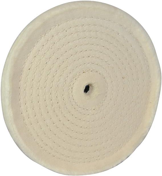 Silverline 105898 - Rueda pulidora de fieltro (150 mm): Amazon.es ...