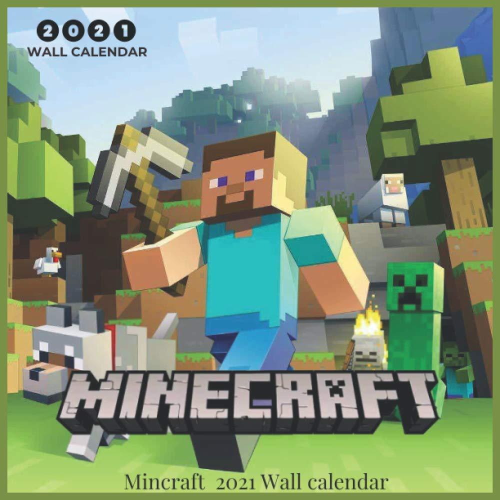 Amazon.com: Minecraft 10 Wall Calendar: Minecraft 10 Wall