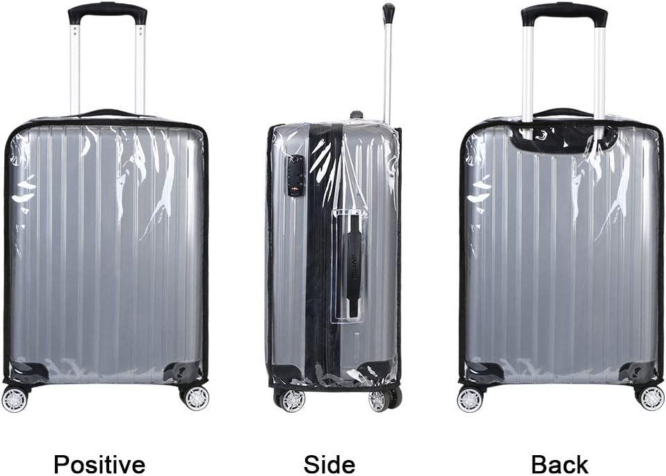 winomo Coffre de protection /élastique Protection Cover Valise pour 22 Noir 24/pouces
