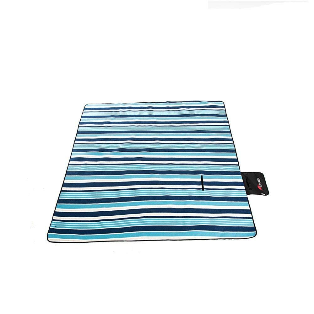 ピクニック毛布 屋外キャンプオックスフォード布ピクニック厚い防水ポータブル折り湿気パッドテントマットピクニック布   B07S1MVQ2K