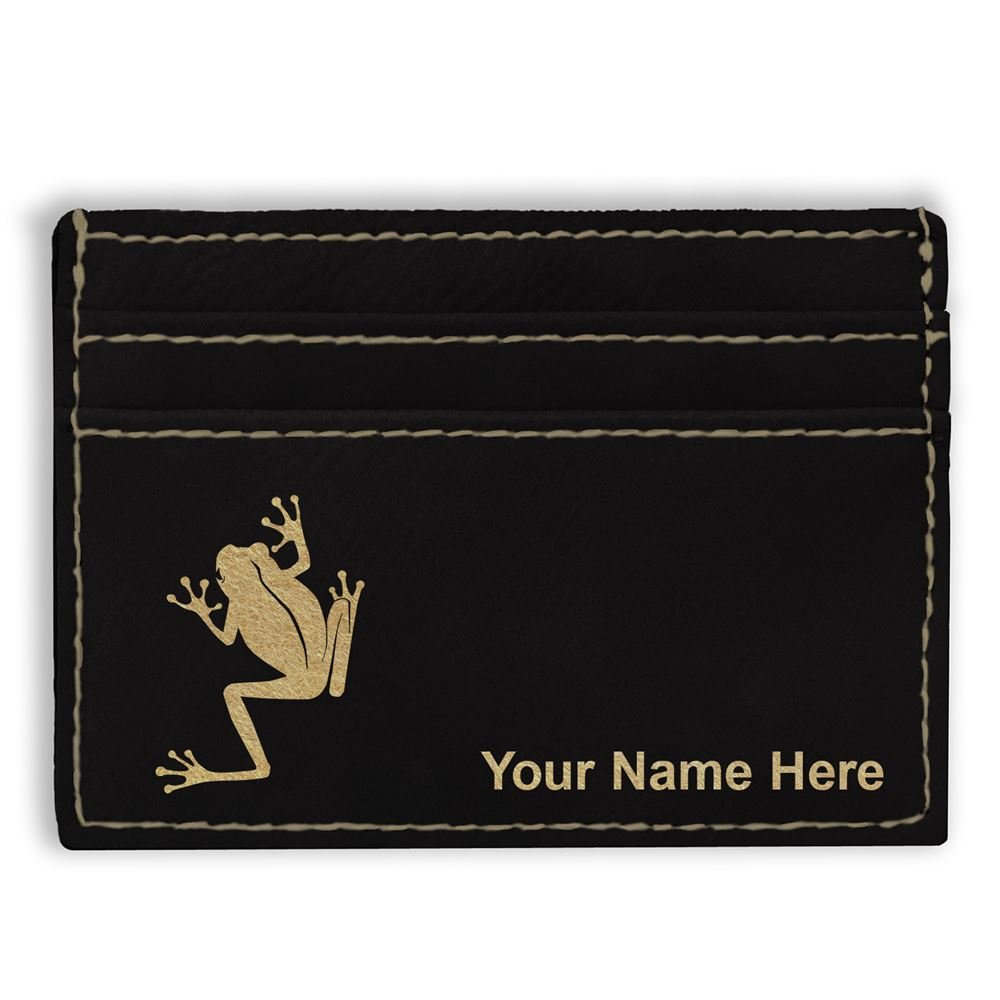 Money Clip Wallet Tree Frog Personalized Engraving Included