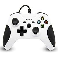 xuelili Controle com fio para Xbox one, controle do Xbox One com fio com vibração dupla e design avançado, gamepad USB…