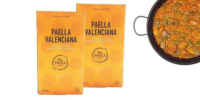 Gastraval - Paella valenciana (970 gr) (Pack 2 unidades)