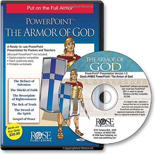 The Armor of God: Stand Firm in Faith! PowerPoint Presentations - NIV and KJV Edition by Hendrickson Publishers