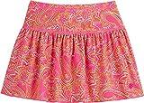 Coolibar UPF 50+ Girls' Swim Skirt - Sun Protective (X-Small- Pink Paisley)