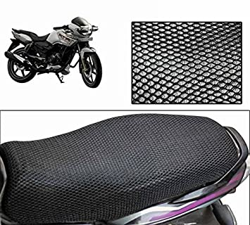 Sensational Sky Line Ocean Bike Stretchable Net Seat Cover For Tvs Apache Rtr 160 Pdpeps Interior Chair Design Pdpepsorg