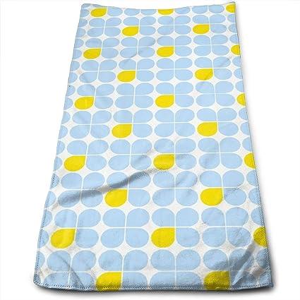 Amazon.com: Milipul Three-Petal Blue One Yellow Kitchen ...