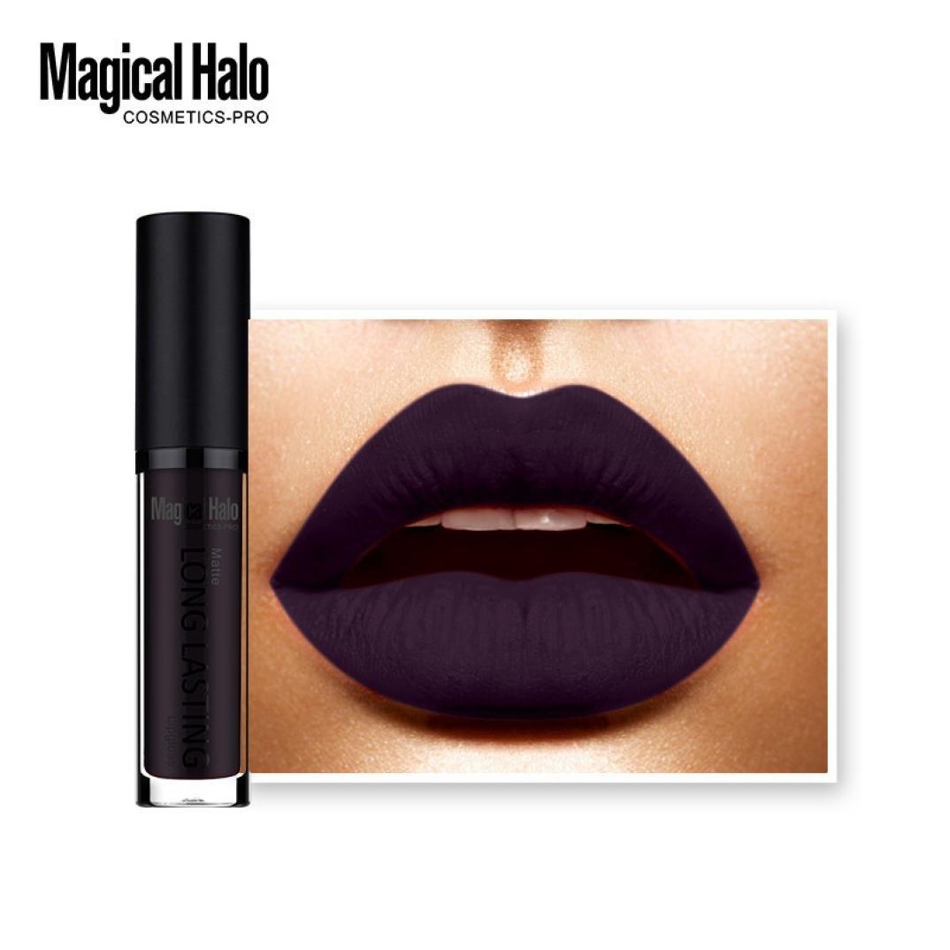 Bolayu Long Lasting Lip Gloss Lipstick, Waterproof Matte Liquid Lipstick (N)