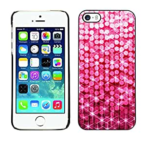 Paccase / SLIM PC / Aliminium Casa Carcasa Funda Case Cover - Dot Pattern Glitter Sparkle Bling - Apple Iphone 5 / 5S