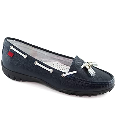 Women's Golf Light Weight Genuine Leather Made in Brazil Spring Street Golf Performance Marc Joseph NY Fashion Shoes | Loafers & Slip-Ons